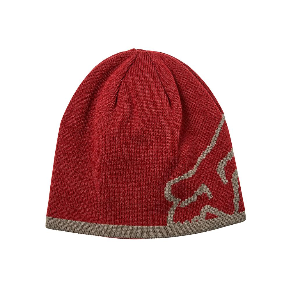 Fox - Streamliner - Beanie - Cranberry/Grey