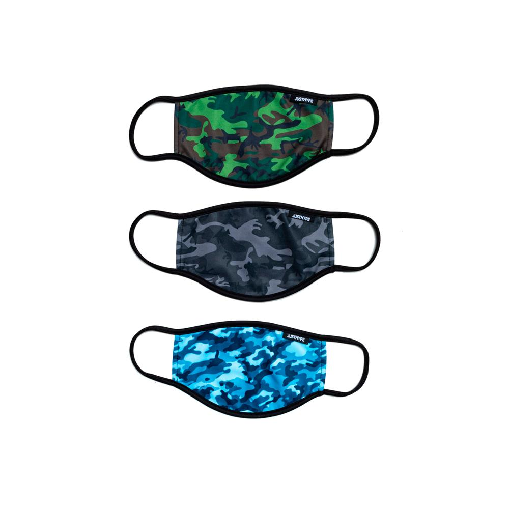 Hype - 3X Adult Camo Love - Face Mask - Camo