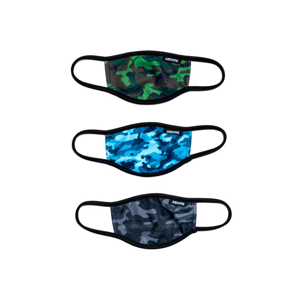 Hype - 3X Kids Camo Love - Face Mask - Camo