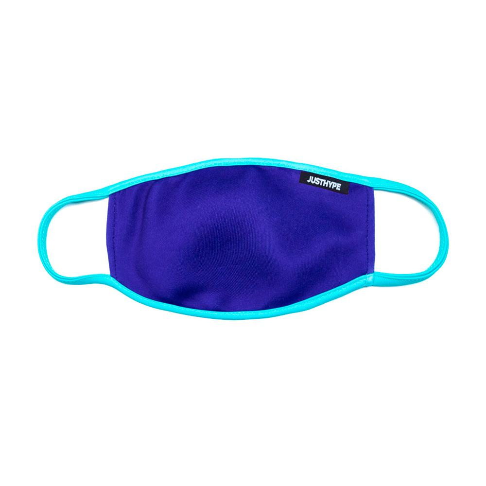 Hype - Adult Blue Light Blue - Face Mask - Blue/Pale Blue