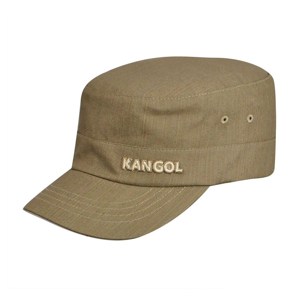 Kangol - Denim Flexfit Army Cap - Flexfit - Beige