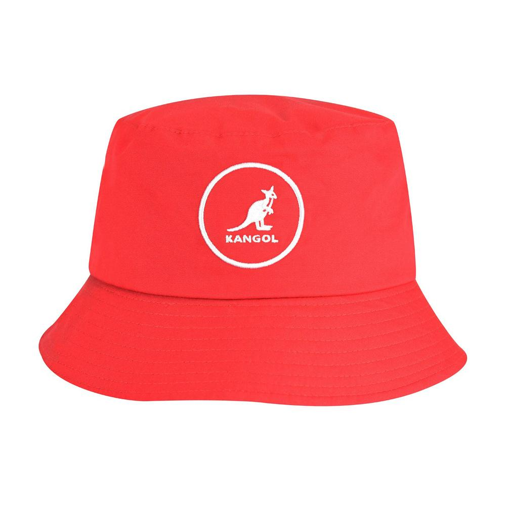 Kangol - Cotton - Bucket Hat - Rojo Red