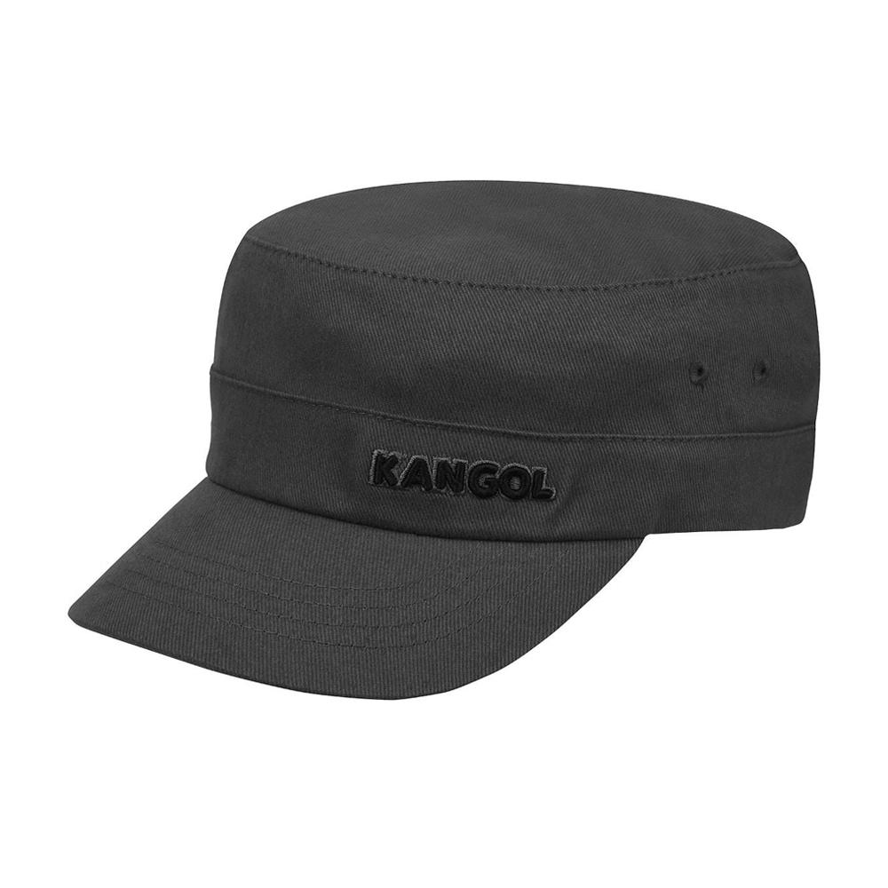 Kangol - Cotton Twill Army Cap - Flexfit - Grey