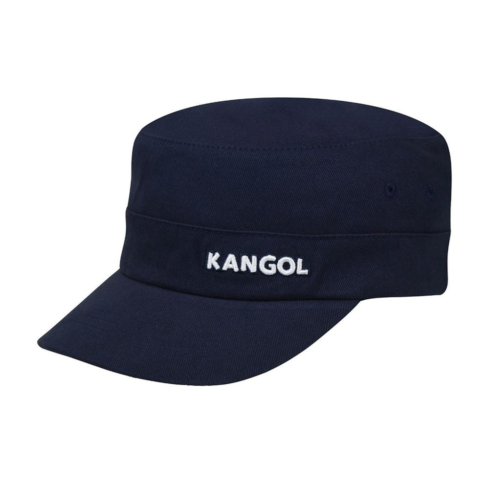 Kangol - Cotton Twill Army Cap - Flexfit - Navy