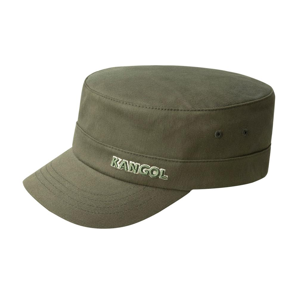 Kangol - Cotton Twill Army Cap - Flexfit - Army Green