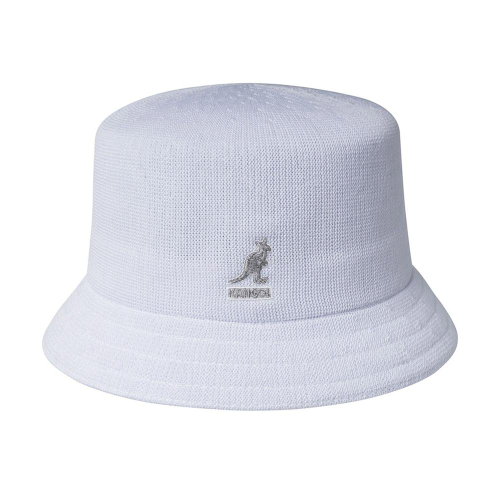 Kangol - Tropic Bin - Bucket Hat - White