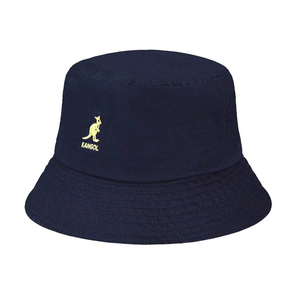 Kangol - Washed - Bucket Hat - Navy