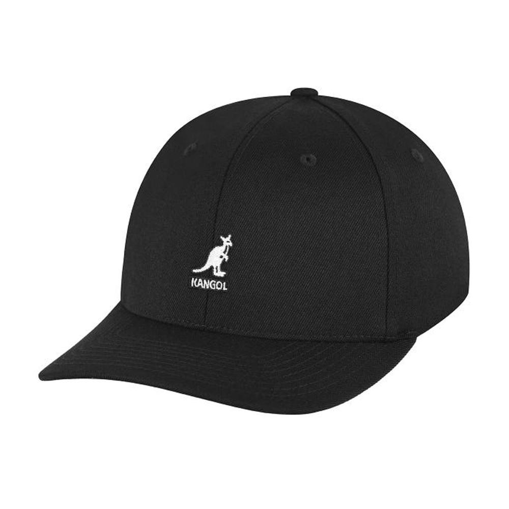 Kangol - Wool Baseball - Flexfit - Black