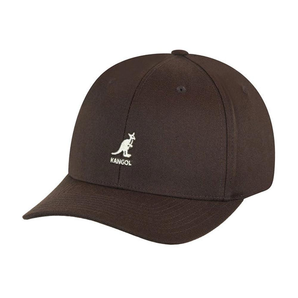 Kangol - Wool Baseball - Flexfit - Brown