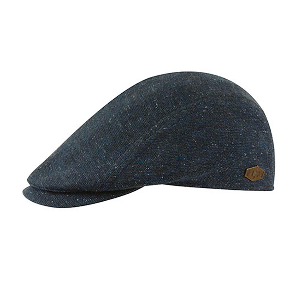 MJM Hats - Daffy 3 - Sixpence/Flat Cap - Navy