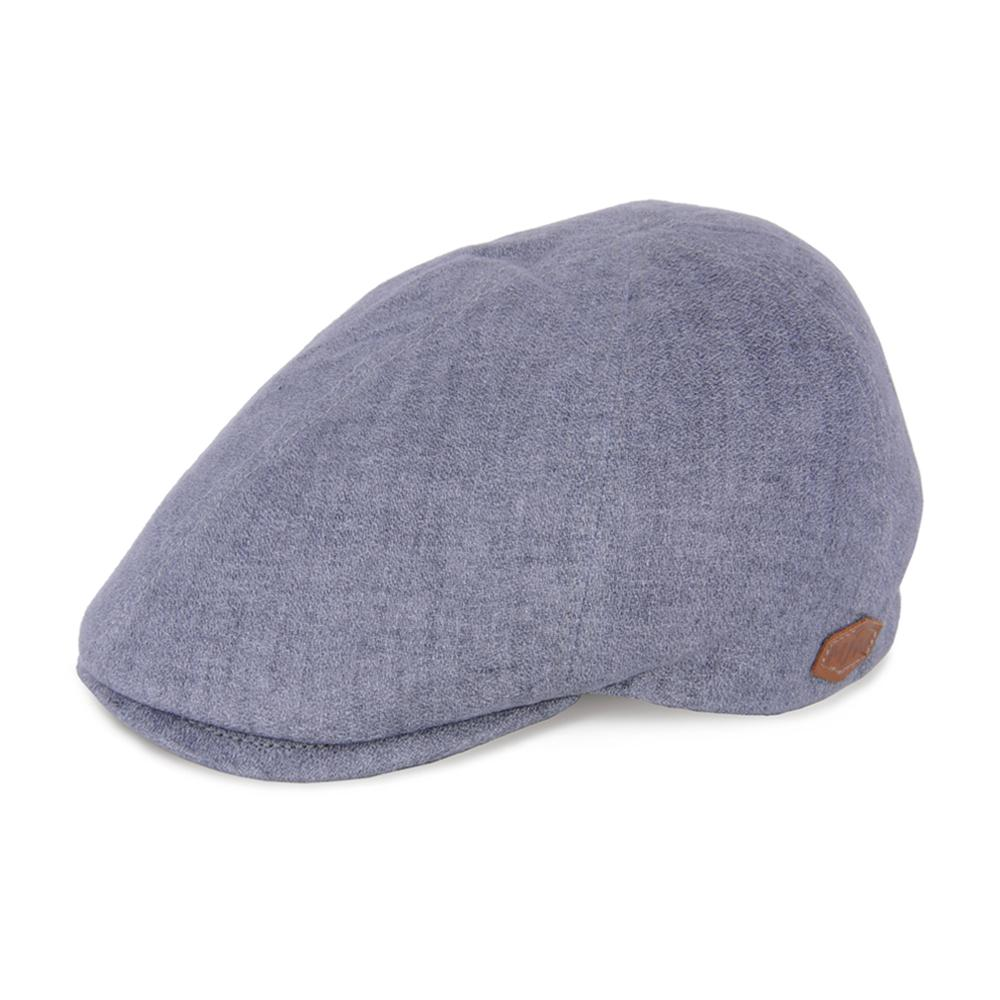 MJM Hats - Broker - Sixpence/Flat Cap - Grey