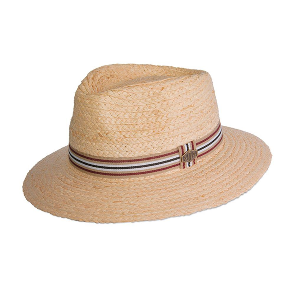 MJM Hats - Miko Raffia - Straw Hat - Natural