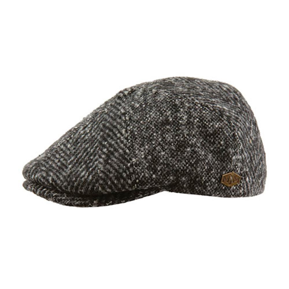 MJM Hats - Rebel - Sixpence/Flat Cap - Patch Grey