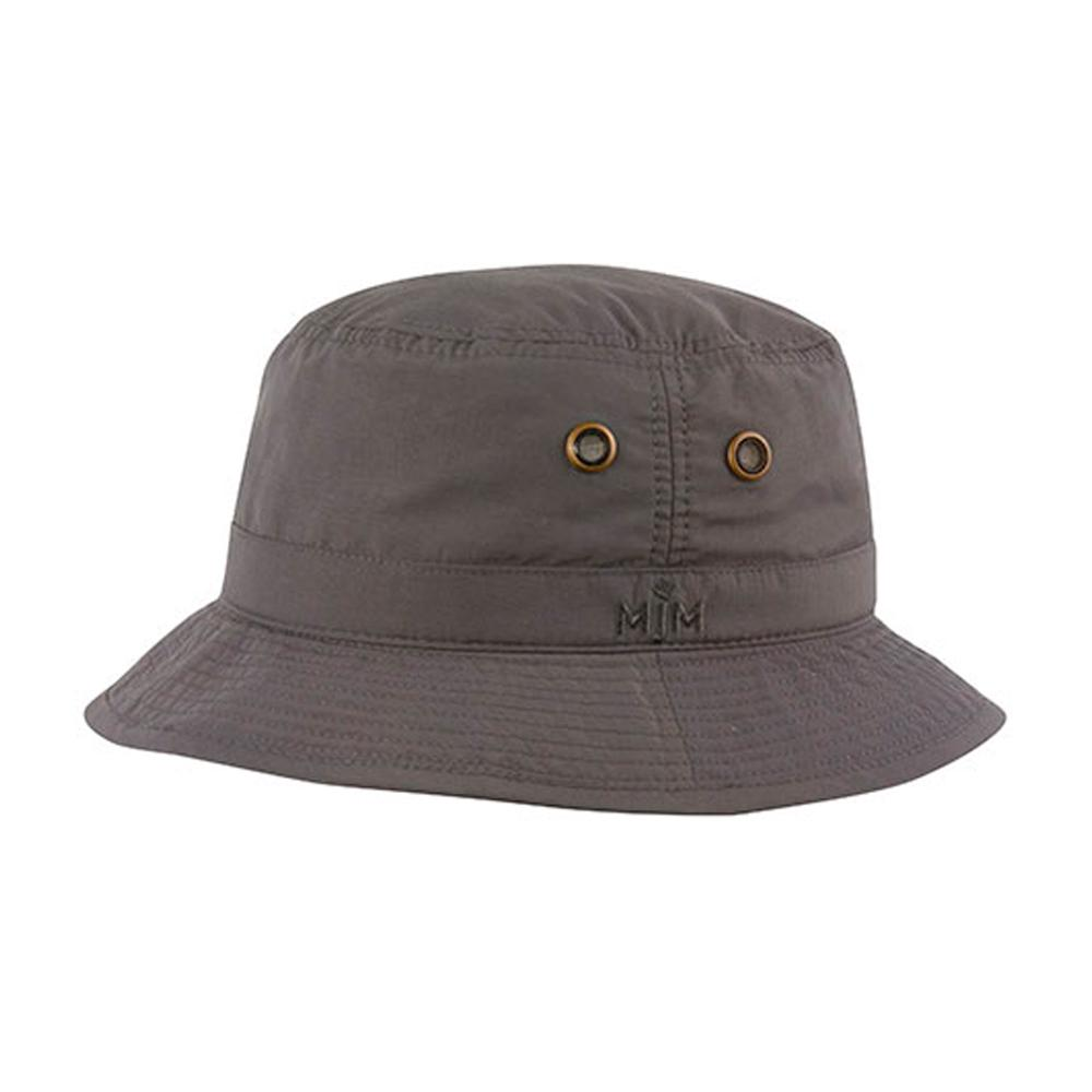 MJM Hats - Taslan - Bucket Hat - Anthracite