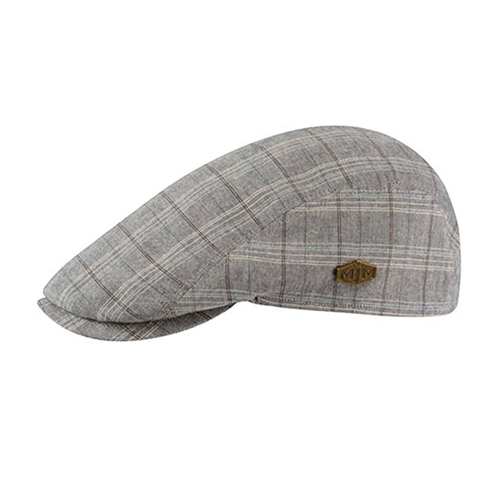 MJM Hats - Young - Sixpence/Flat Cap - Grey