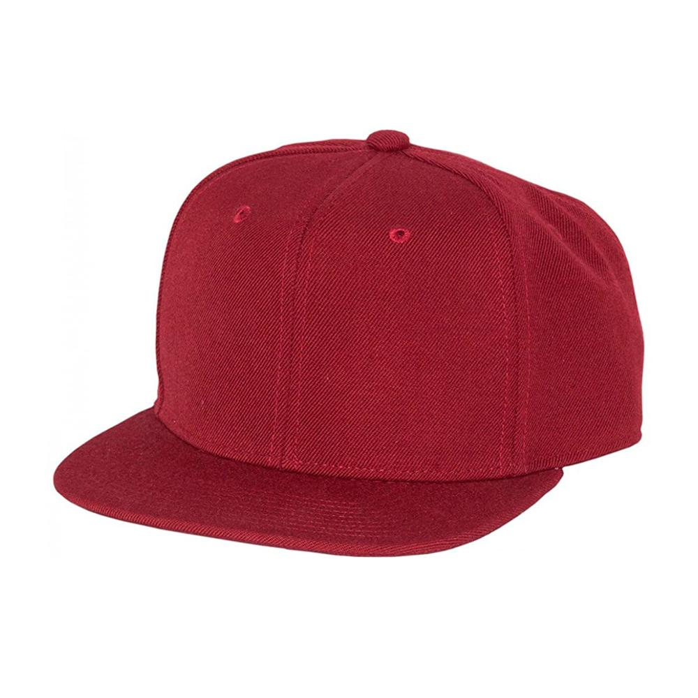 Mitchell & Ness - Blank High Crown - Snapback - Maroon