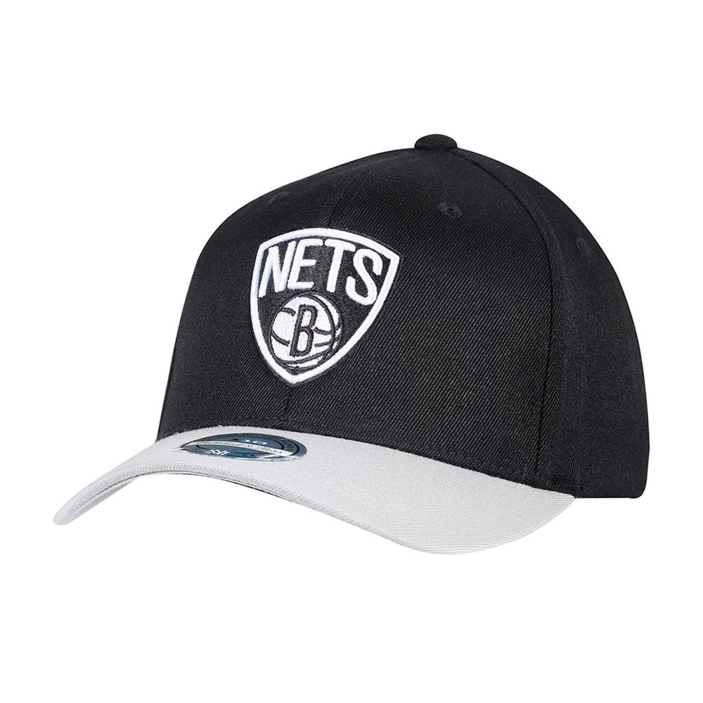Mitchell & Ness - Brooklyn Nets - Snapback - Black/Grey