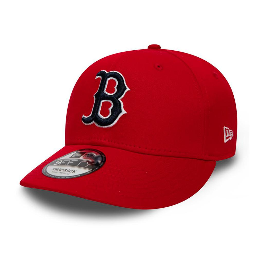 New Era - Boston Red Sox Stretch Snap 9Fifty - Snapback - Scarlet Red