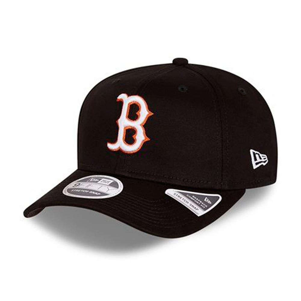 New Era - Boston Red Sox 9Fifty Stretch Snap - Snapback - Black/Neon White