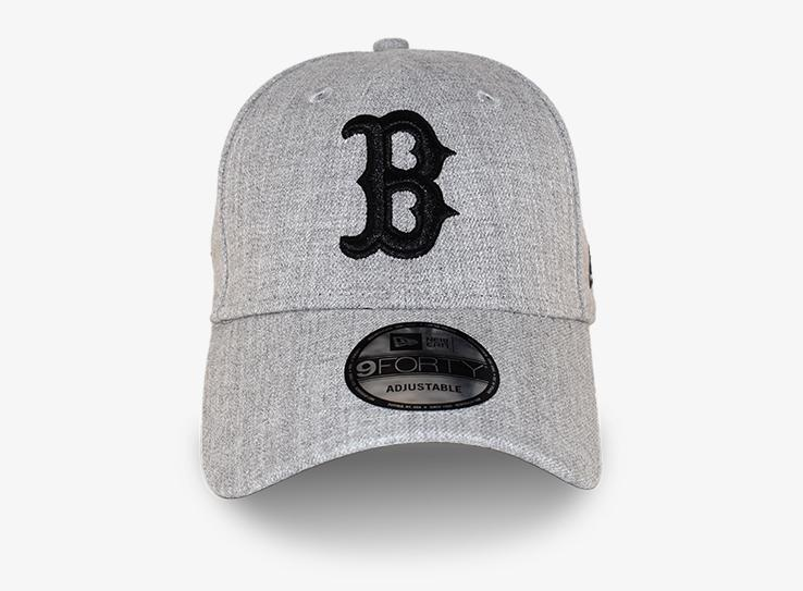 New Era - Boston Red Sox 9Forty - Adjustable - Heather Grey