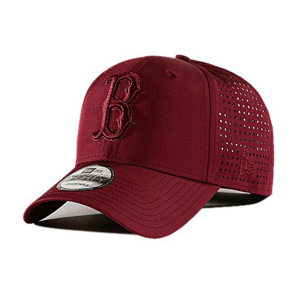 New Era - Boston Red Sox 9Forty Feather Perf - Adjustable - Maroon