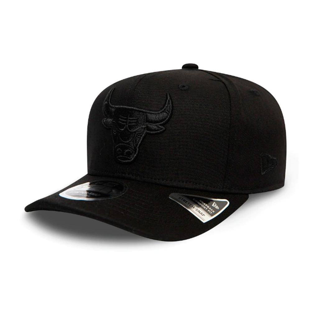 New Era - Chicago Bulls 9Fifty Stretch Snap - Snapback - Black/Black