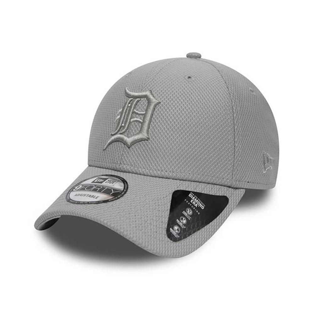 New Era - Detroit Tigers Diamond Era 9Forty - Adjustable - Grey
