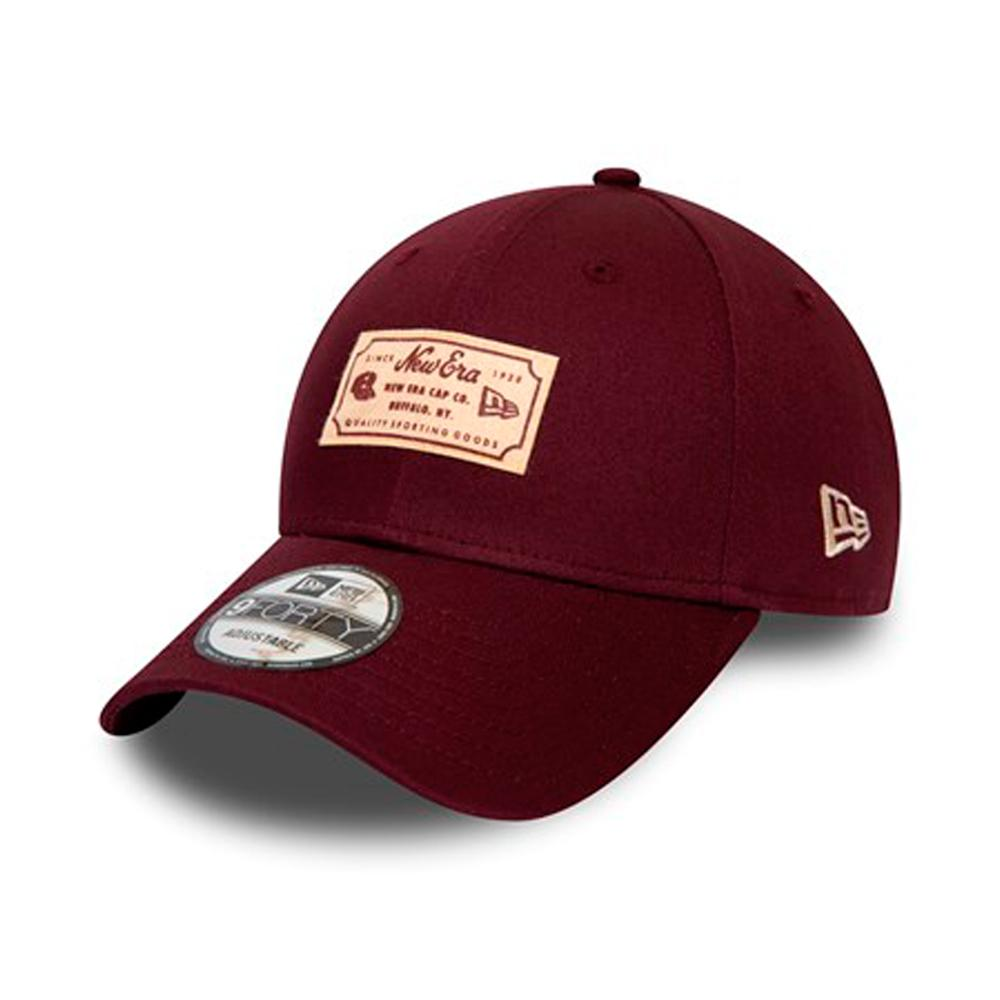 New Era - Heritage Patch 9Forty - Adjustable - Maroon