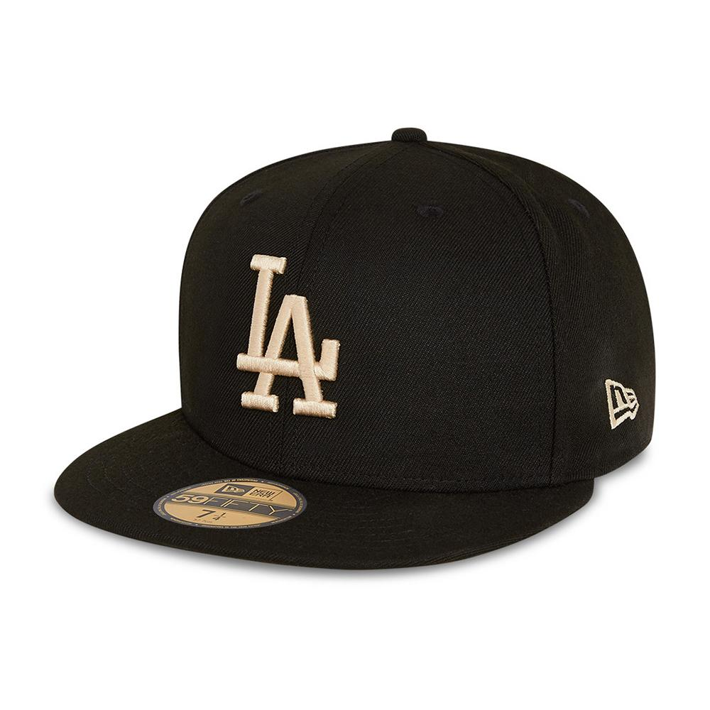 New Era - LA Dodgers 59Fifty Essential - Fitted - Black/Stone
