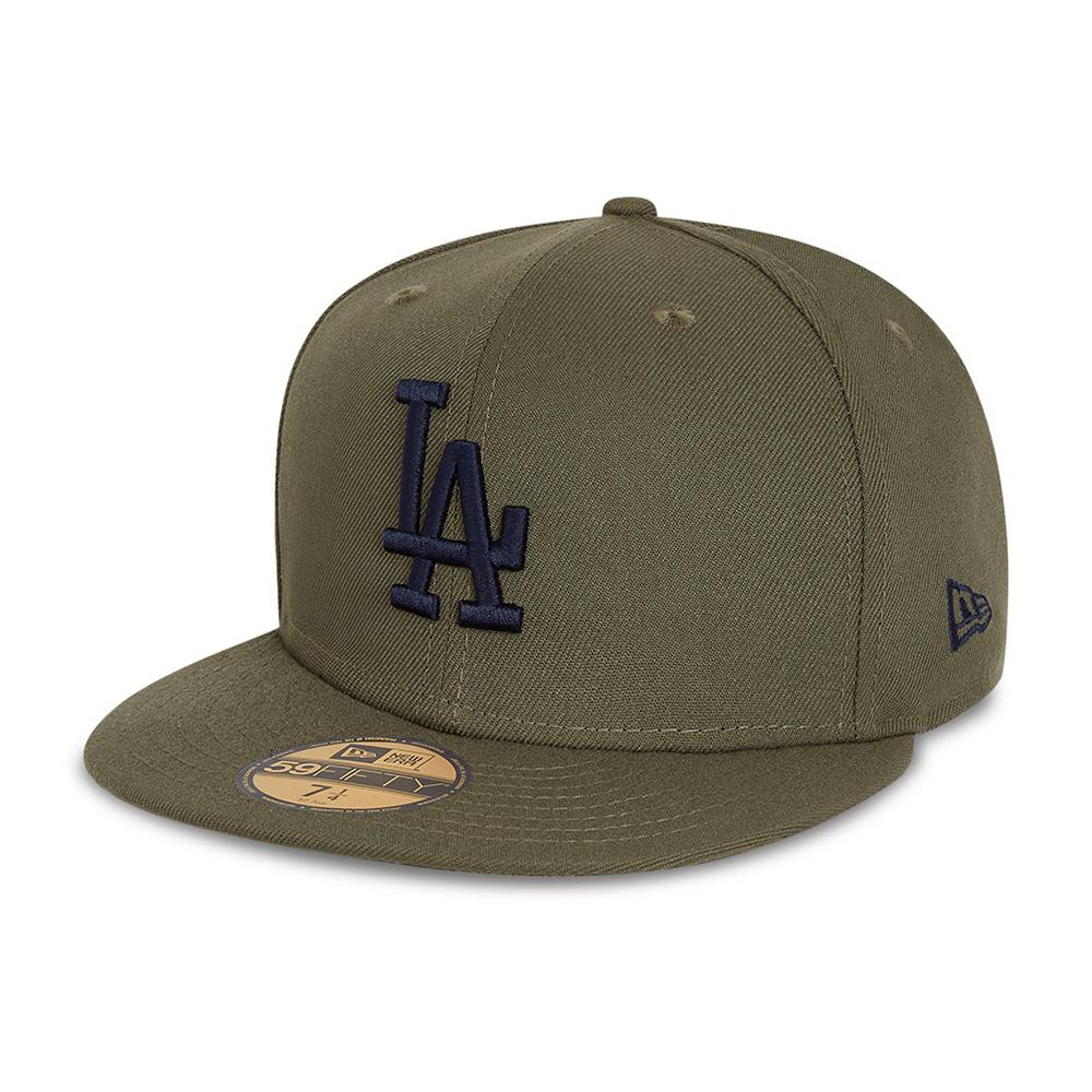 New Era - LA Dodgers 59Fifty Essential - Fitted - Olive/Navy