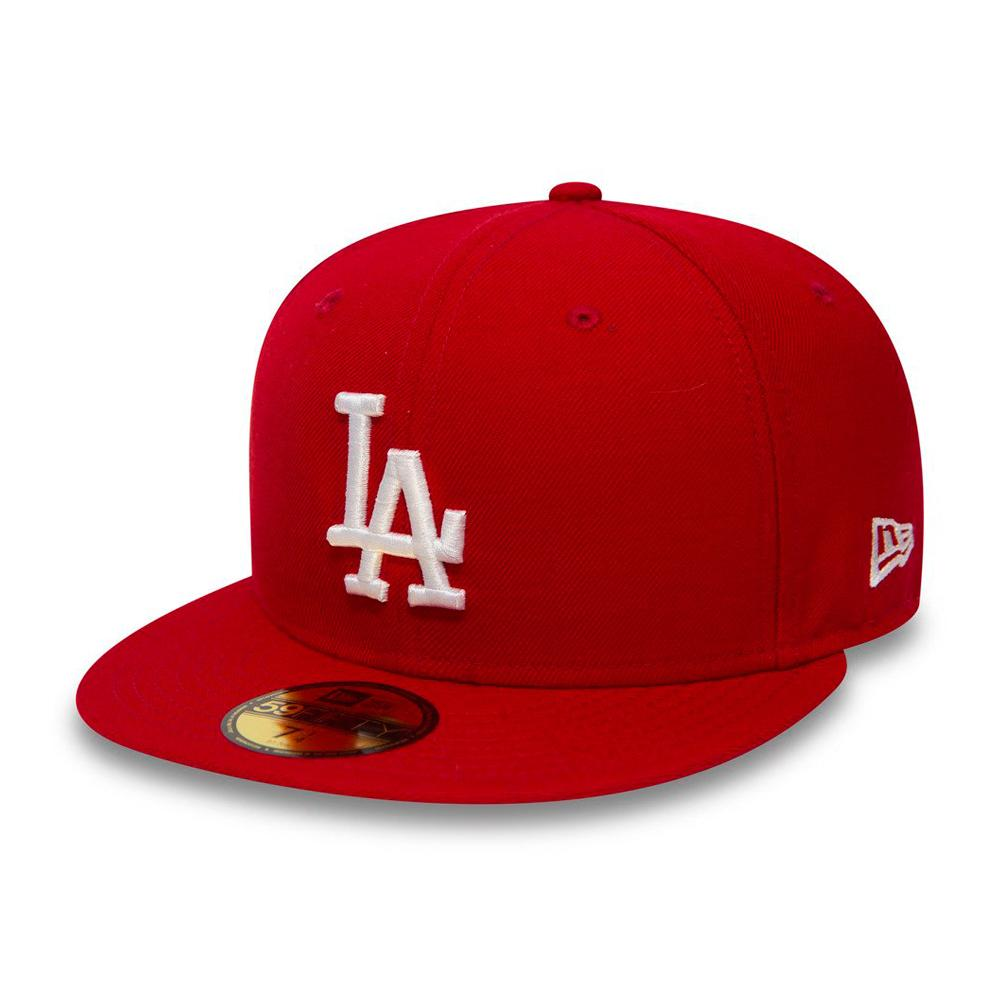 New Era - LA Dodgers 59Fifty - Fitted - Scarlet/White