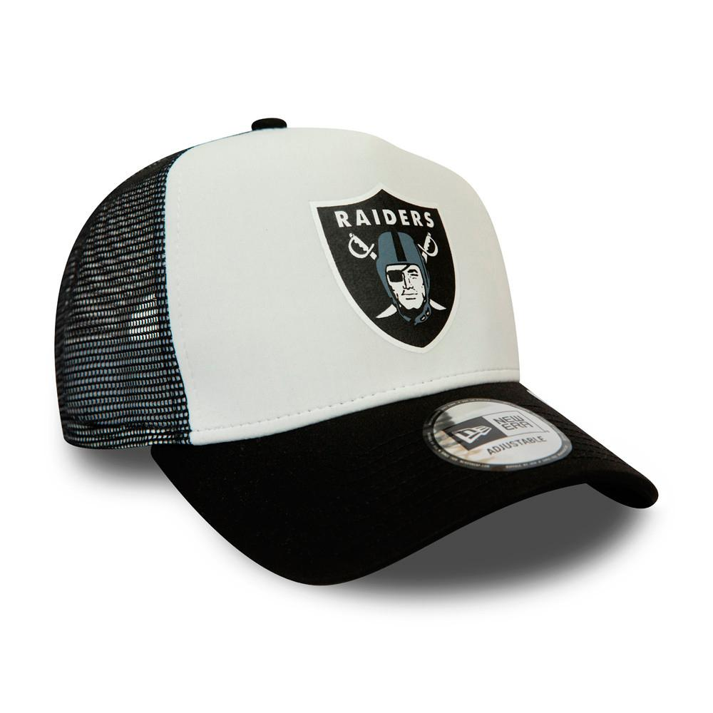 New Era - Las Vegas Raiders Team Colour Block - Trucker/Snapback - White/Black