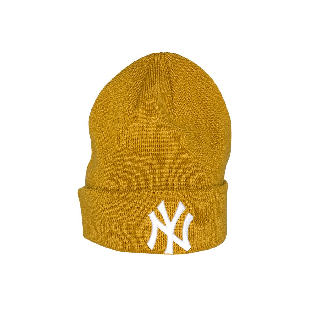 New Era - NY Essential Knit - Beanie - Mustard Cuff