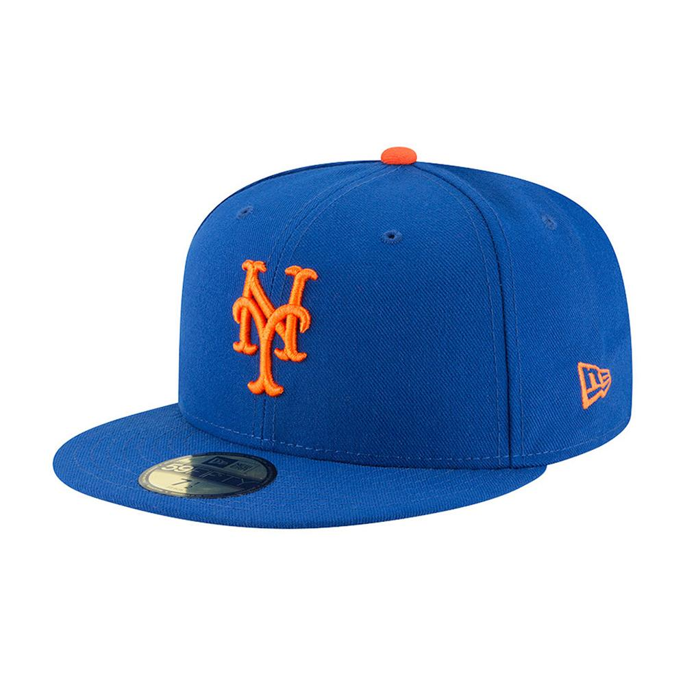 New Era - NY Mets 59Fifty Authentic - Fitted - Blue/Orange