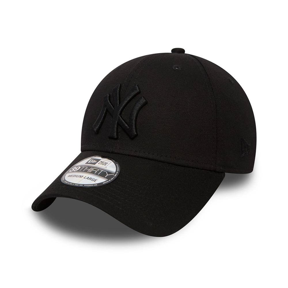 New Era - NY Yankees 39Thirty - Flexfit - Black/Black