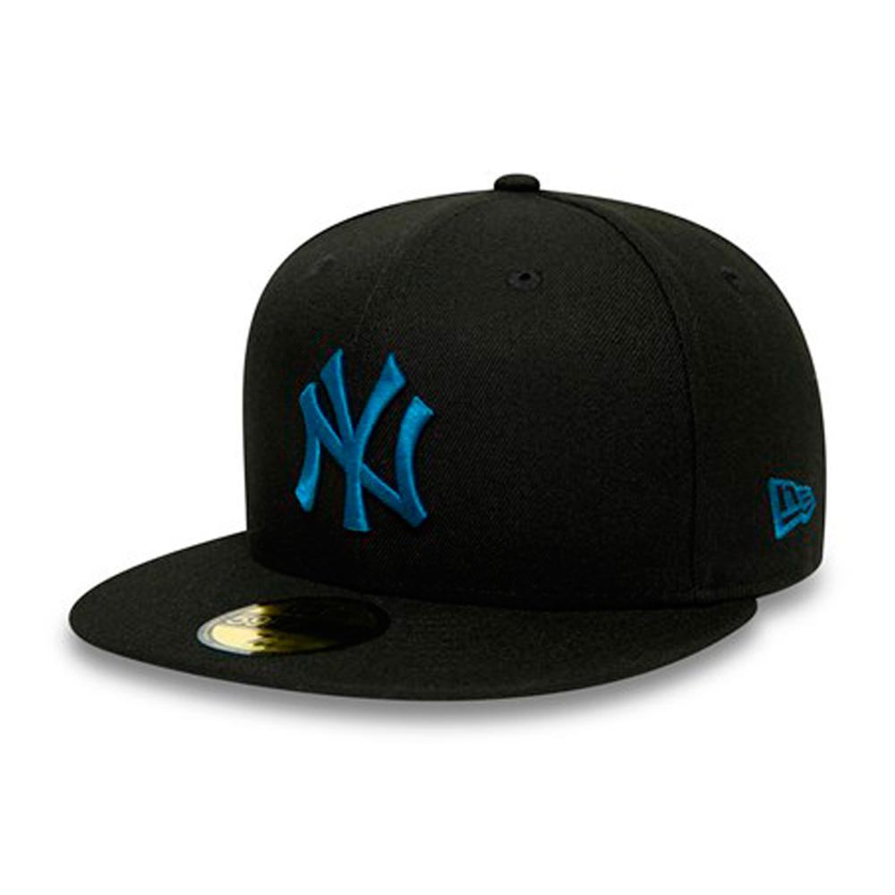 New Era - NY Yankees 59Fifty Essential - Fitted - Black/Blue