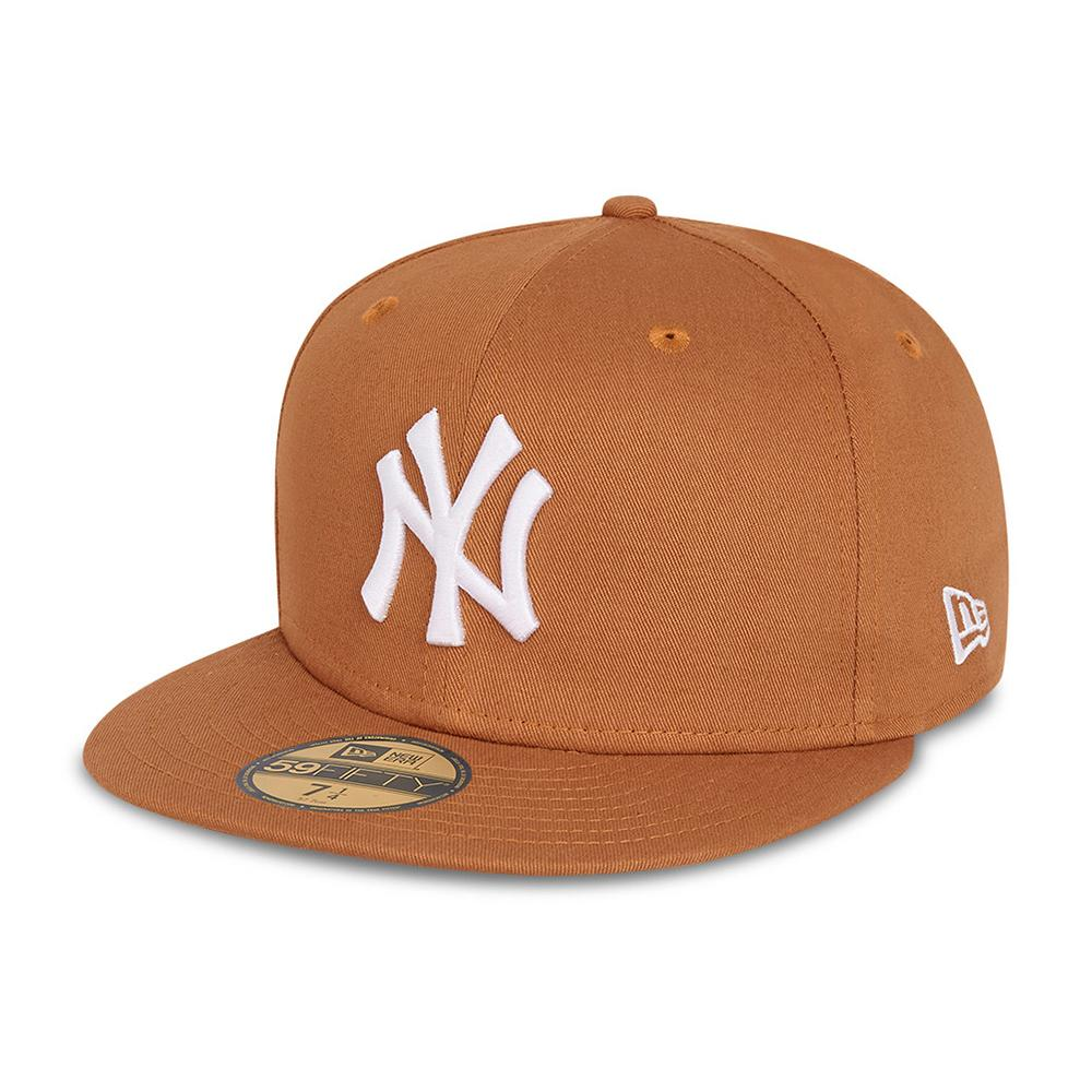 New Era - NY Yankees 59Fifty Essential - Fitted - Brown/White