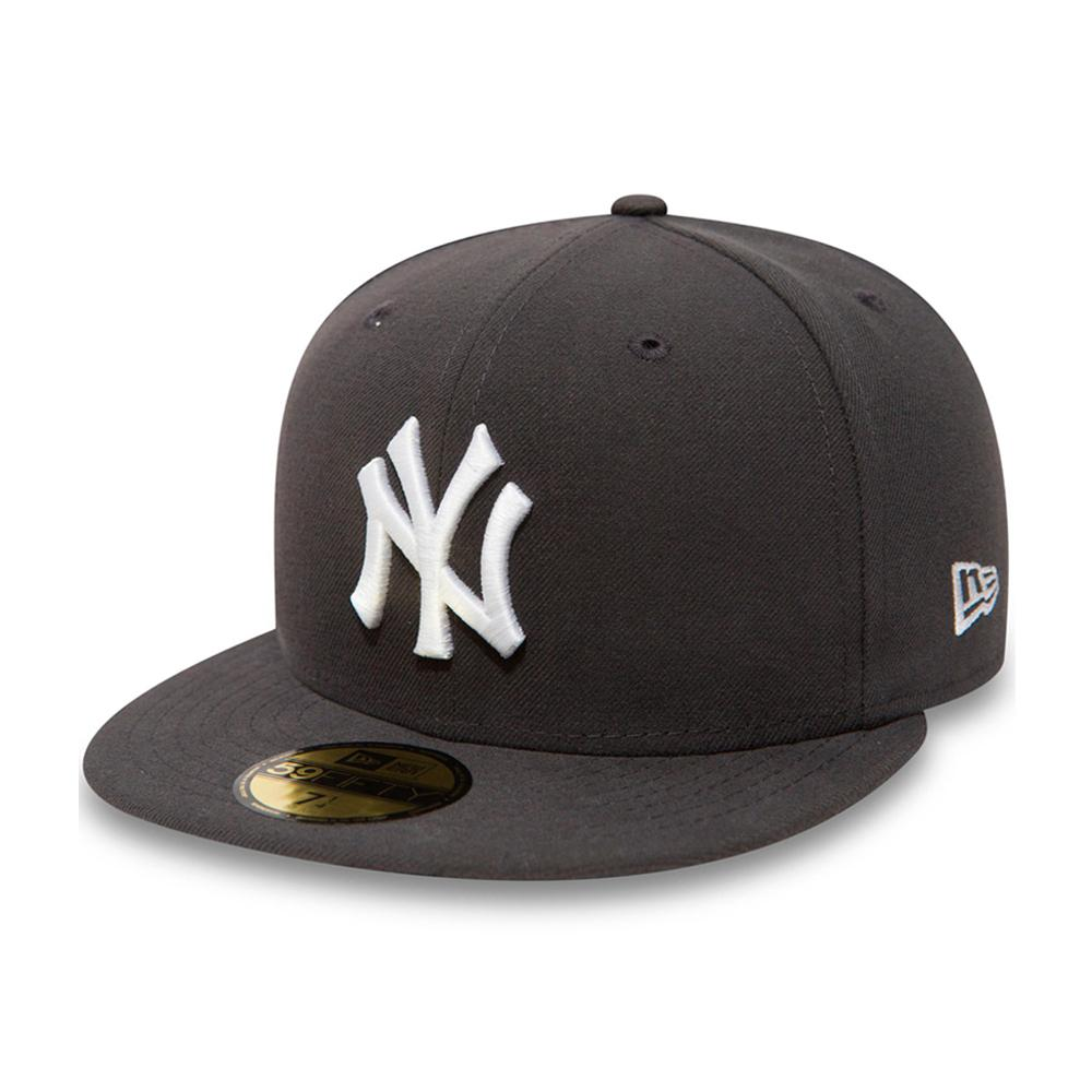 New Era - NY Yankees 59Fifty - Fitted - Graphite/White