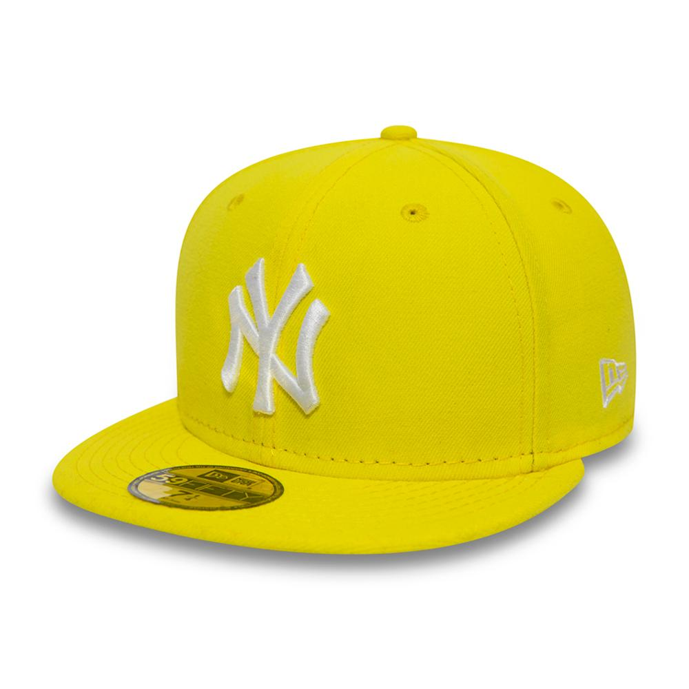 New Era - NY Yankees 59Fifty - Fitted - Yellow/White