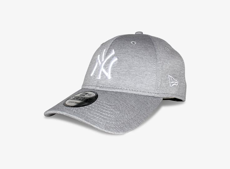 New Era - NY Yankees 9Forty - Adjustable - Heather Grey