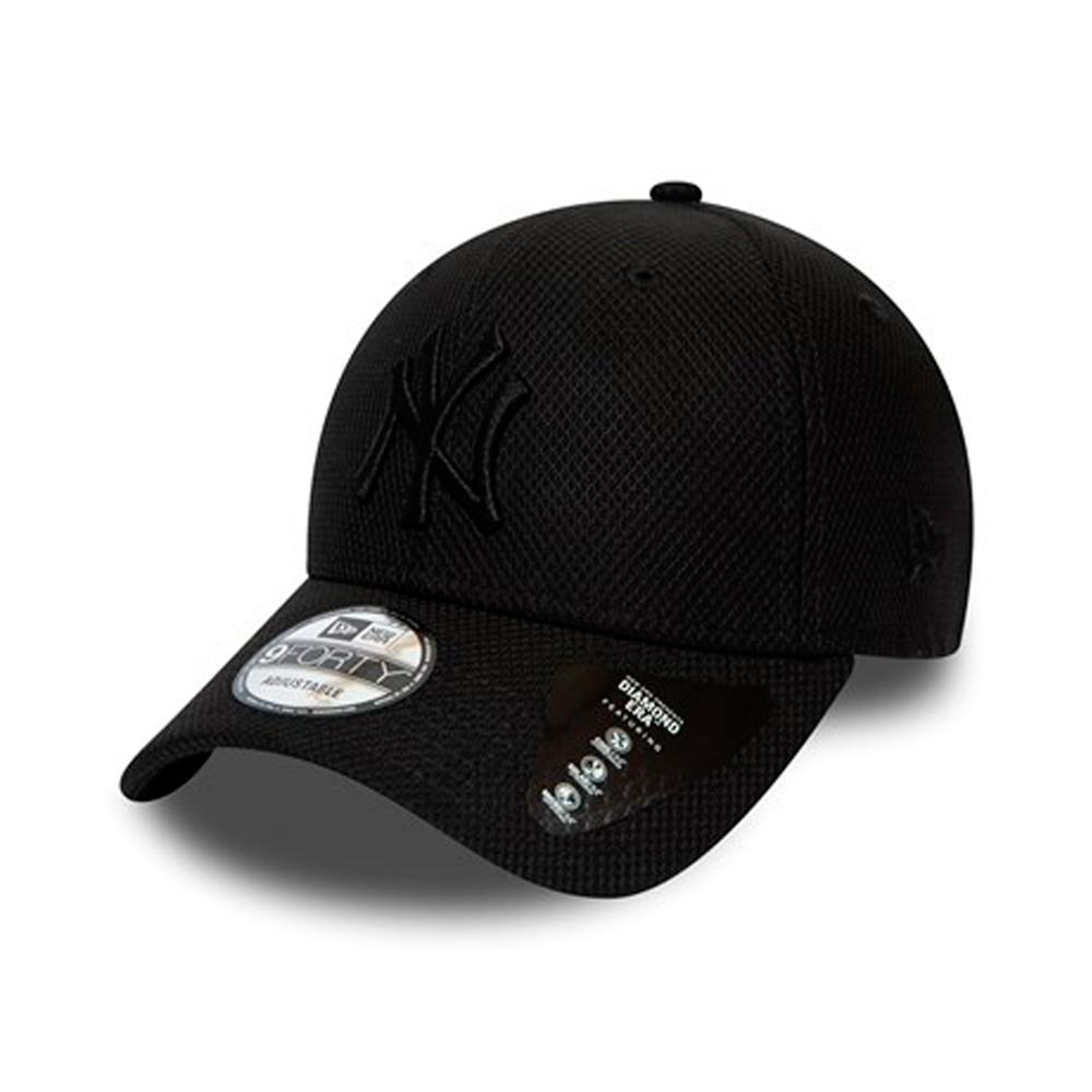 New Era - NY Yankees 9Forty Diamond - Adjustable - Black/Black