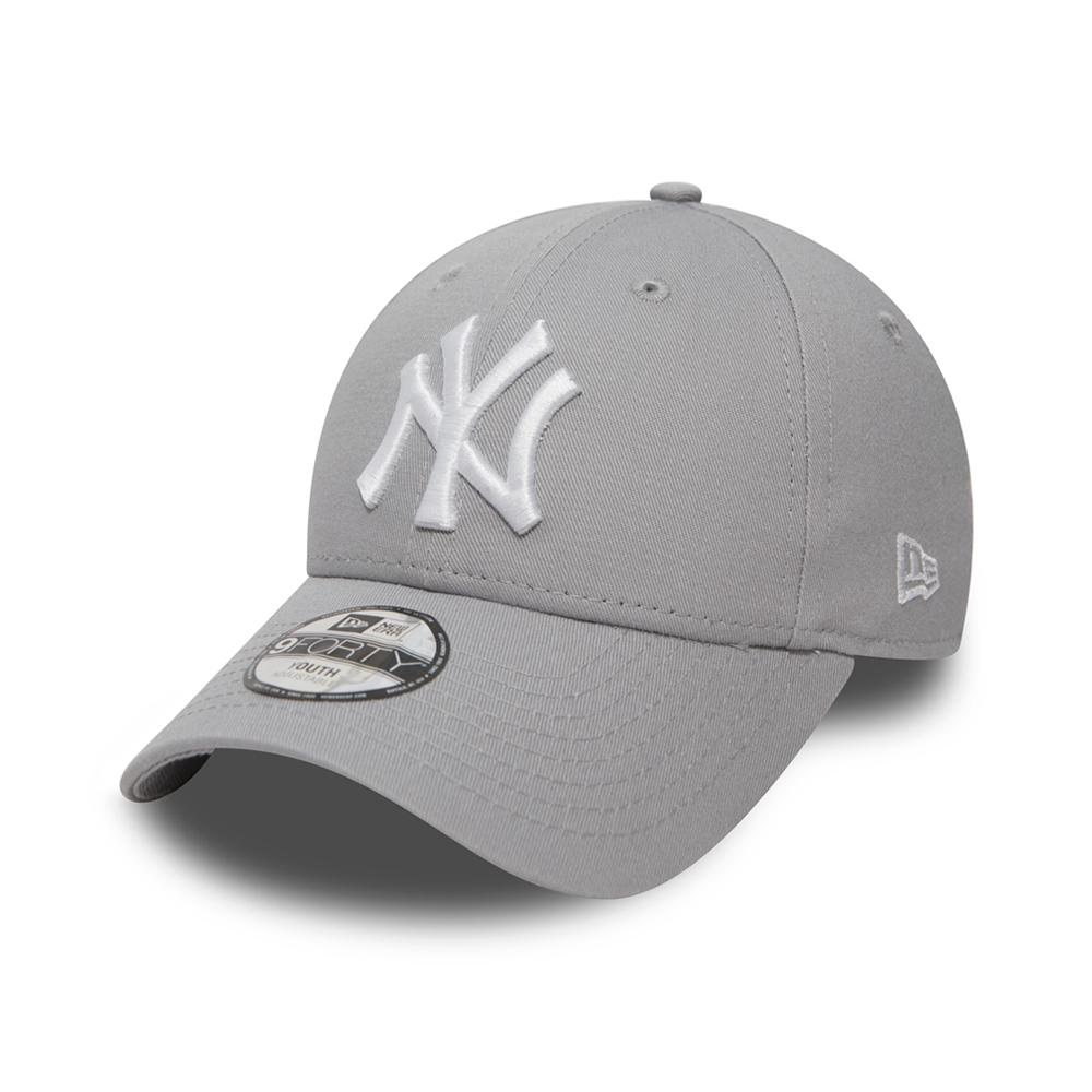 New Era - NY Yankees 9Forty Youth - Adjustable - Grey