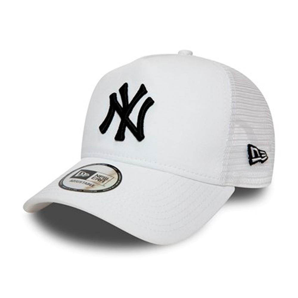 New Era - NY Yankees Clean A Frame - Trucker/Snapback - White