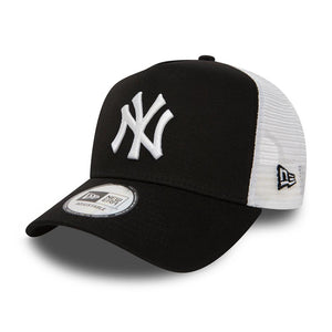 New Era - NY Yankees Clean 2 - Trucker/Snapback - Black/White