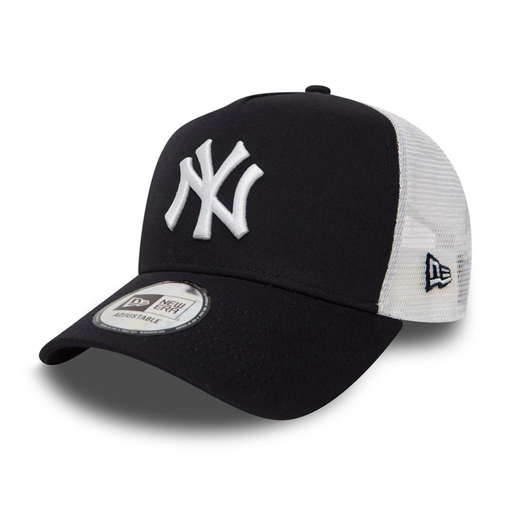 New Era - NY Yankees Clean 2 - Trucker/Snapback - Navy/White