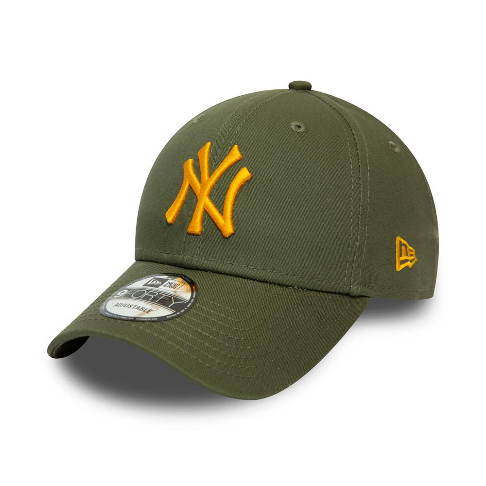 New Era - NY Yankees Essential 9Forty - Adjustable - Olive/Orange