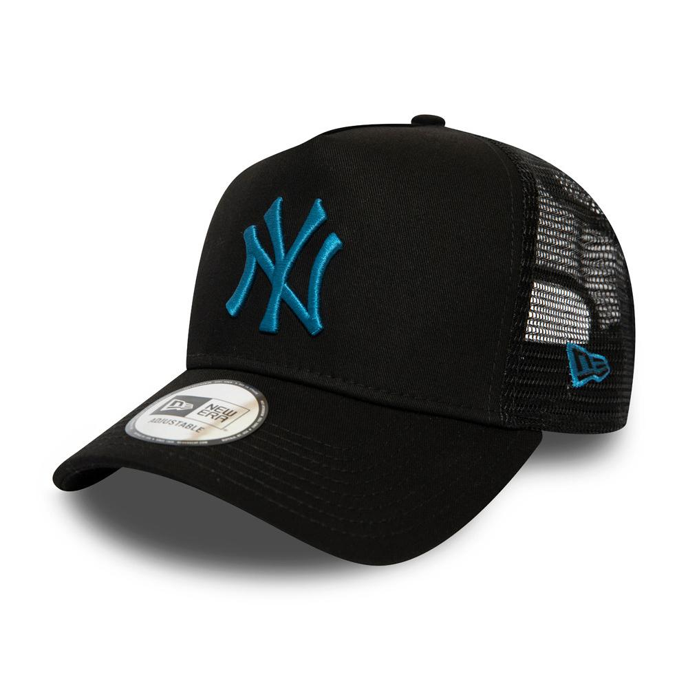 New Era - NY Yankees Essential 9Forty - Trucker/Snapback - Black/Blue