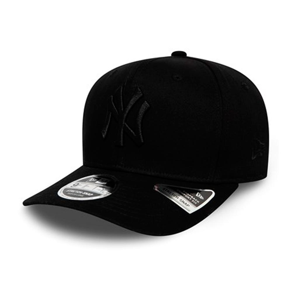 New Era -  NY Yankees Stretch Snap 9Fifty - Snapback - Black/Black