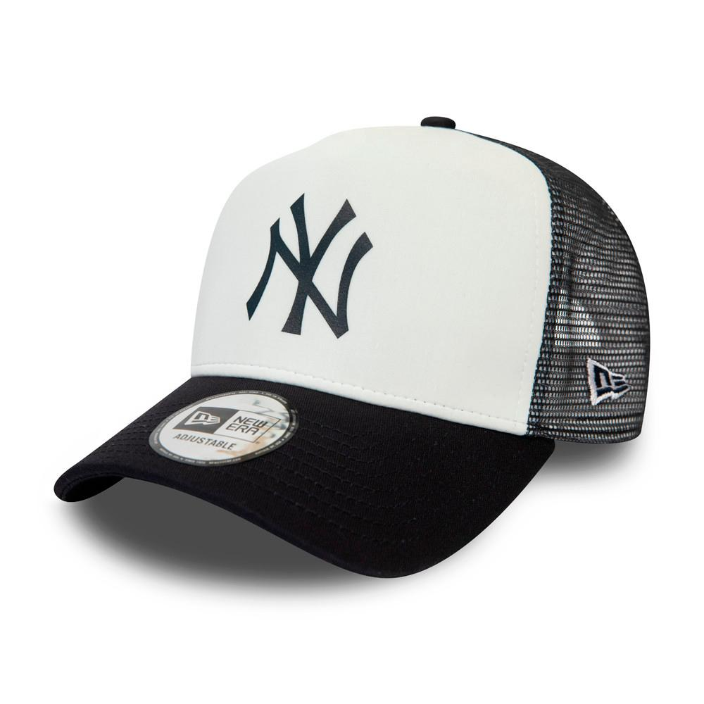 New Era - NY Yankees Team Colour Block - Trucker/Snapback - White/Black