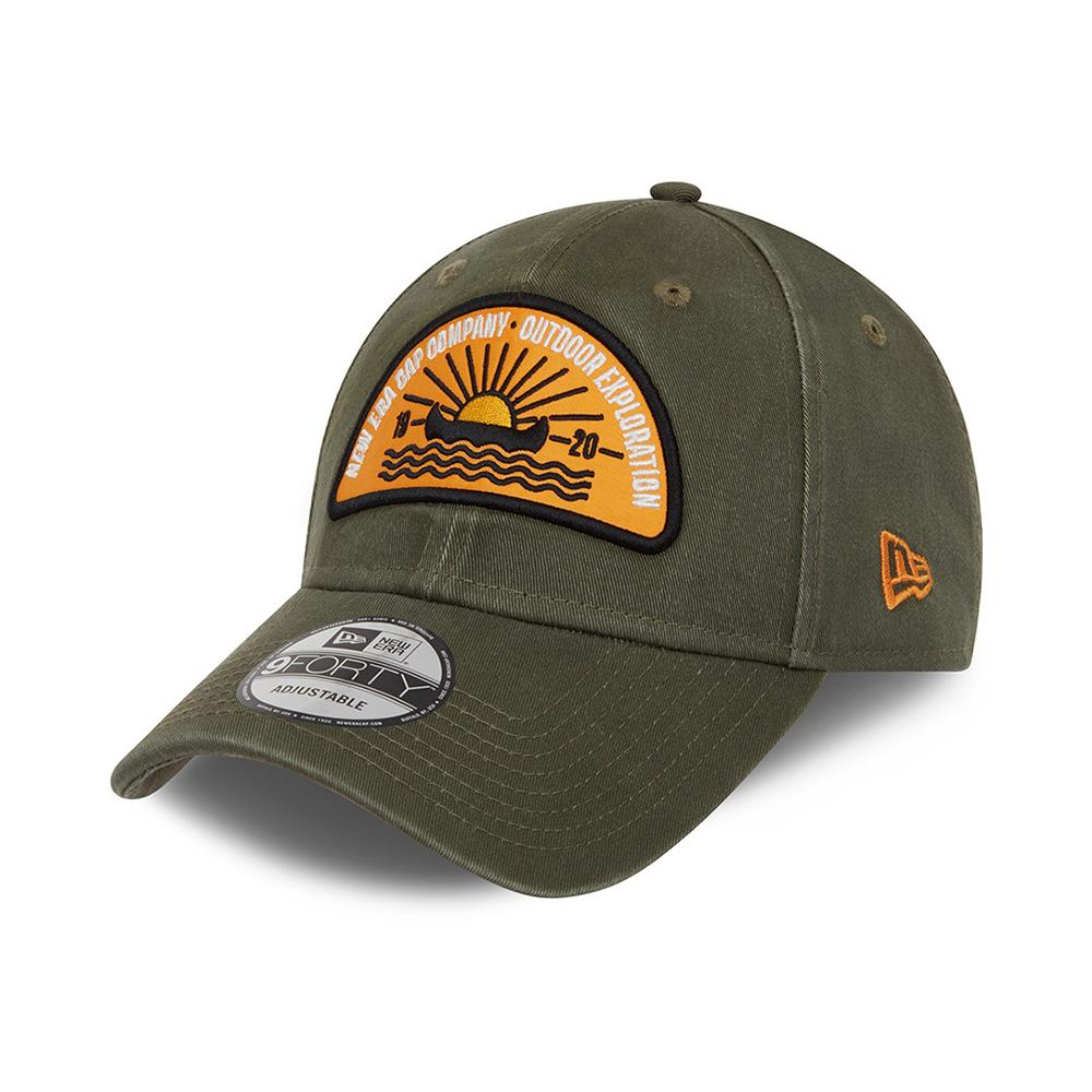 New Era - Outdoor Camp Patch 9Forty - Adjustable - Khaki